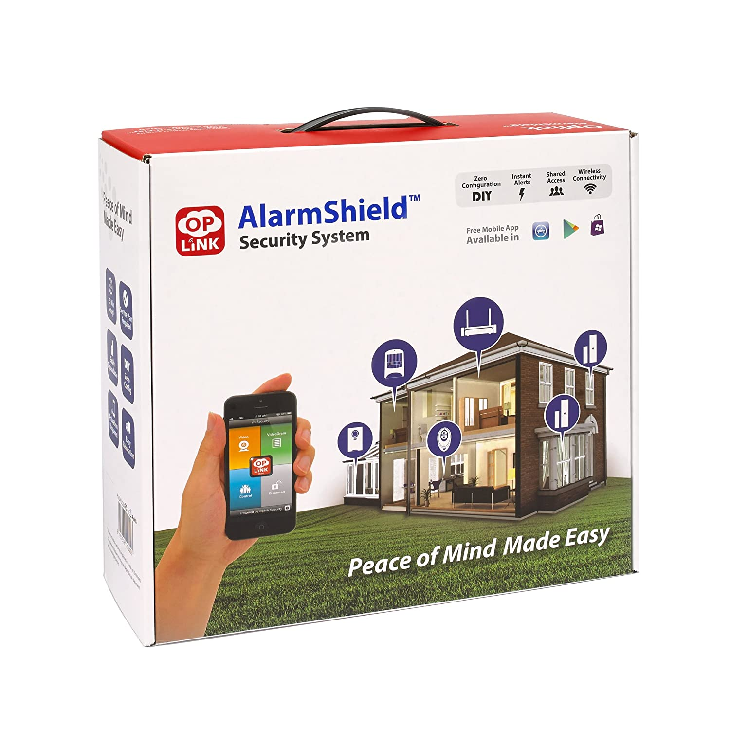 Get Peace Of Mind Your Home And Belongings Are Secure With This Affordable Home  Security System. Get Real Time Alerts And Notifications For Multiple ...