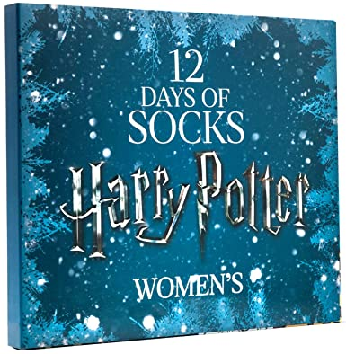 limited edition womens harry potter 12 days of socks set for size 4 10