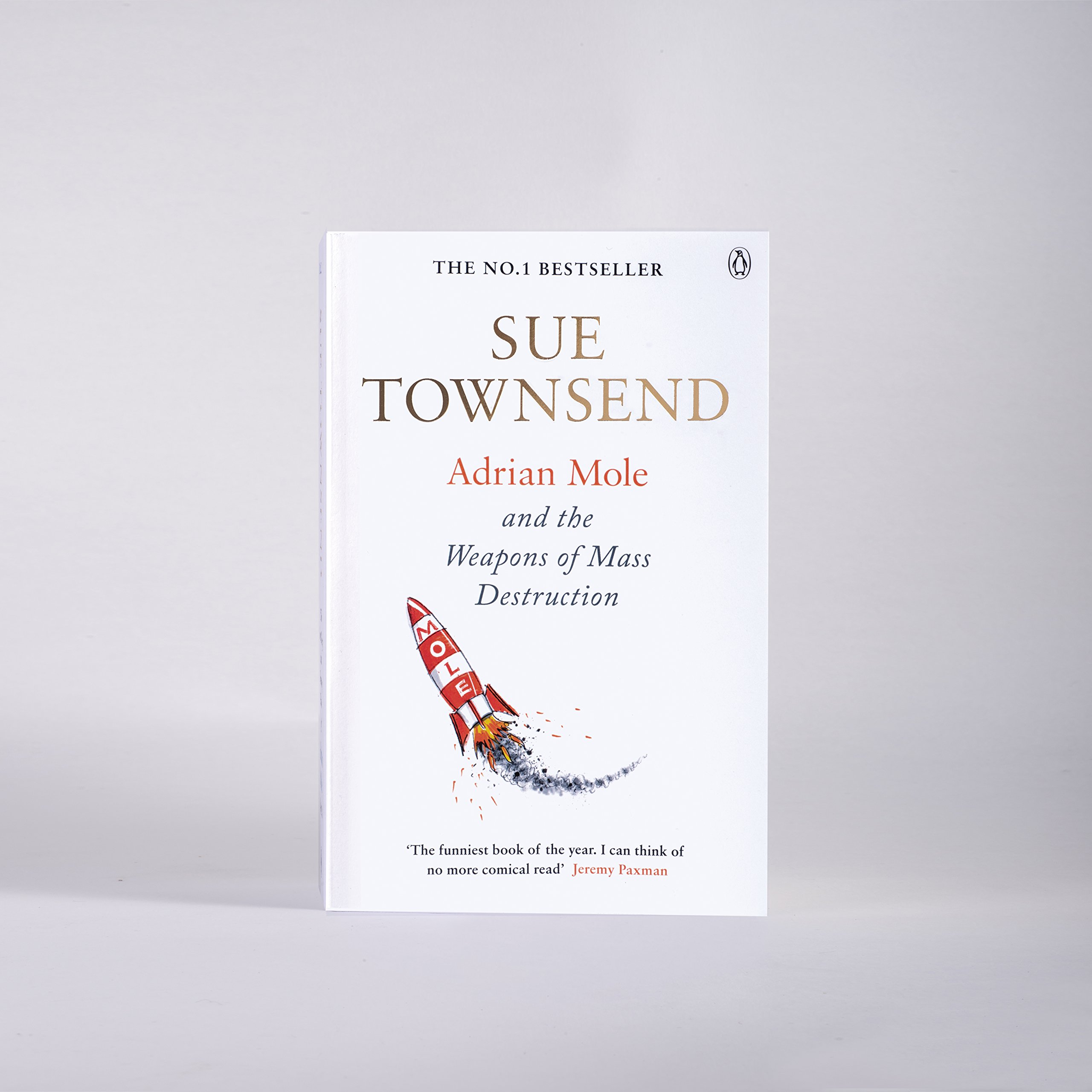 Adrian Mole And The Weapons Of Mass Destruction: Sue Townsend:  9780241960165: Amazon: Books