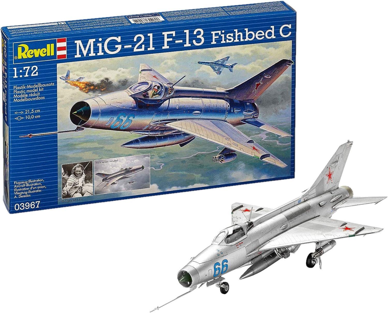 03967 REVELL MiG-21 F-13 Fishbed C 1:72 Modèle Kit