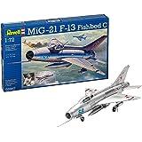 ドイツレベル 1/72 Mig-21 F.13 03967 プラモデル
