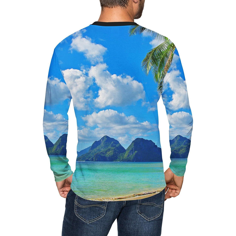 Paradise Island Mens Longsleeve Tee
