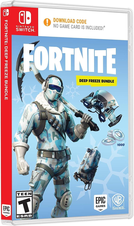 Amazon com: Warner Bros Fortnite: Deep Freeze Bundle