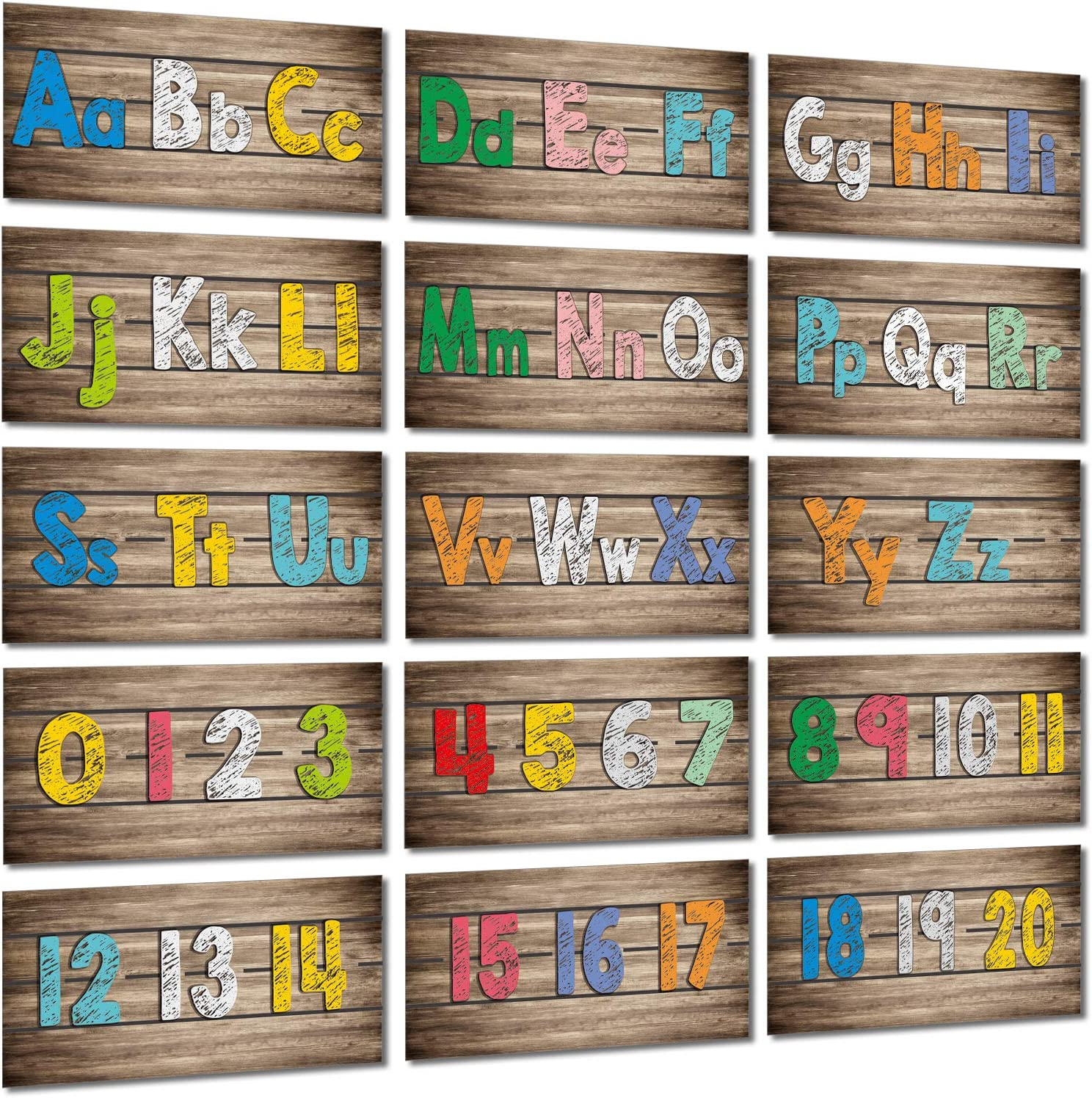 Alphabet Banner Number Banner Home Sweet Alphabet Bulletin Board Border Number Home Sweet Classroom Decor Including Numbers 0-20, with 80 Pieces Adhesive Glue Point Dots for Toddler Kids Students