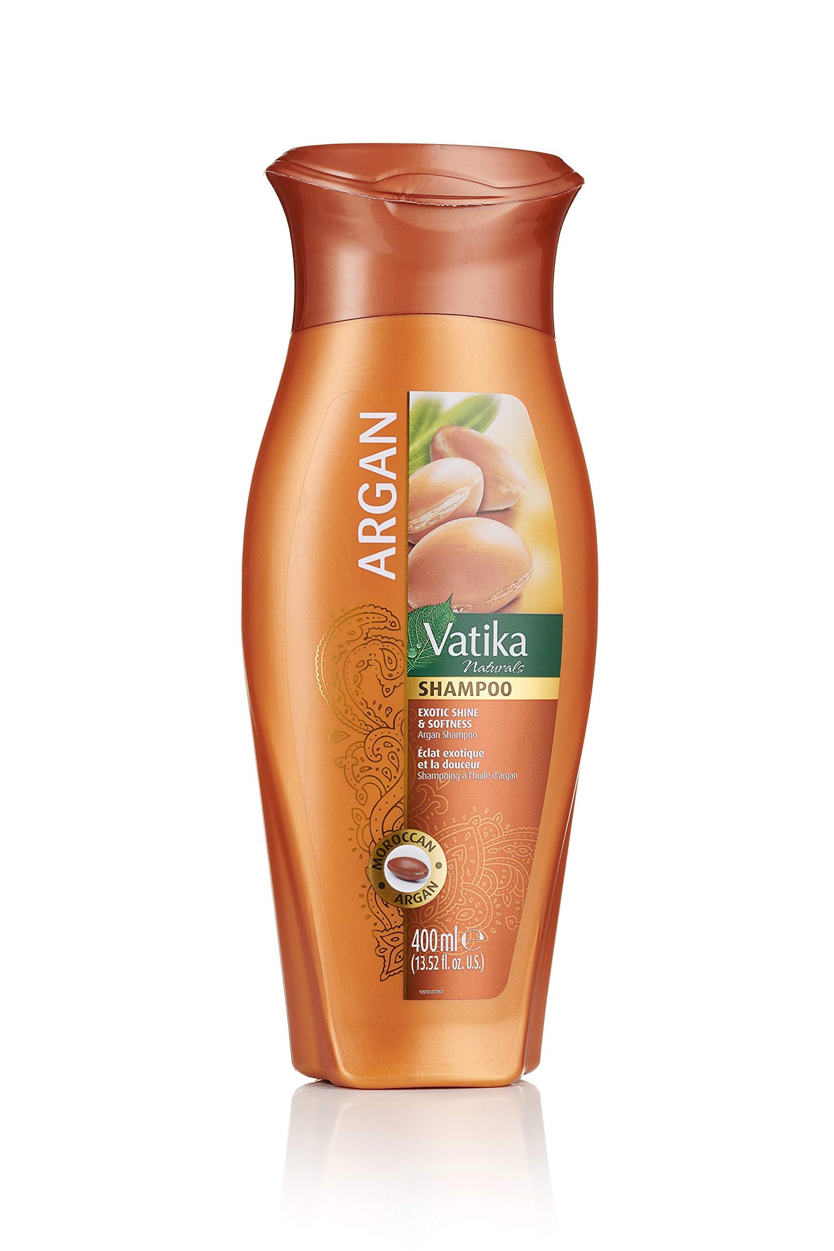 Dabur Vatika Naturals Argan Shampoo 400ml