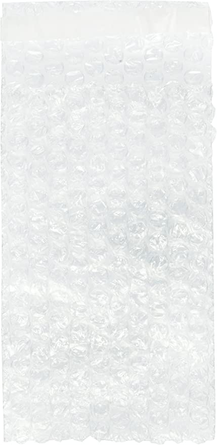 """Bubble Protective Wrap Bags Self Seal Clear 300 6/"""" x 8.5/"""" Bubble Out Pouches"""