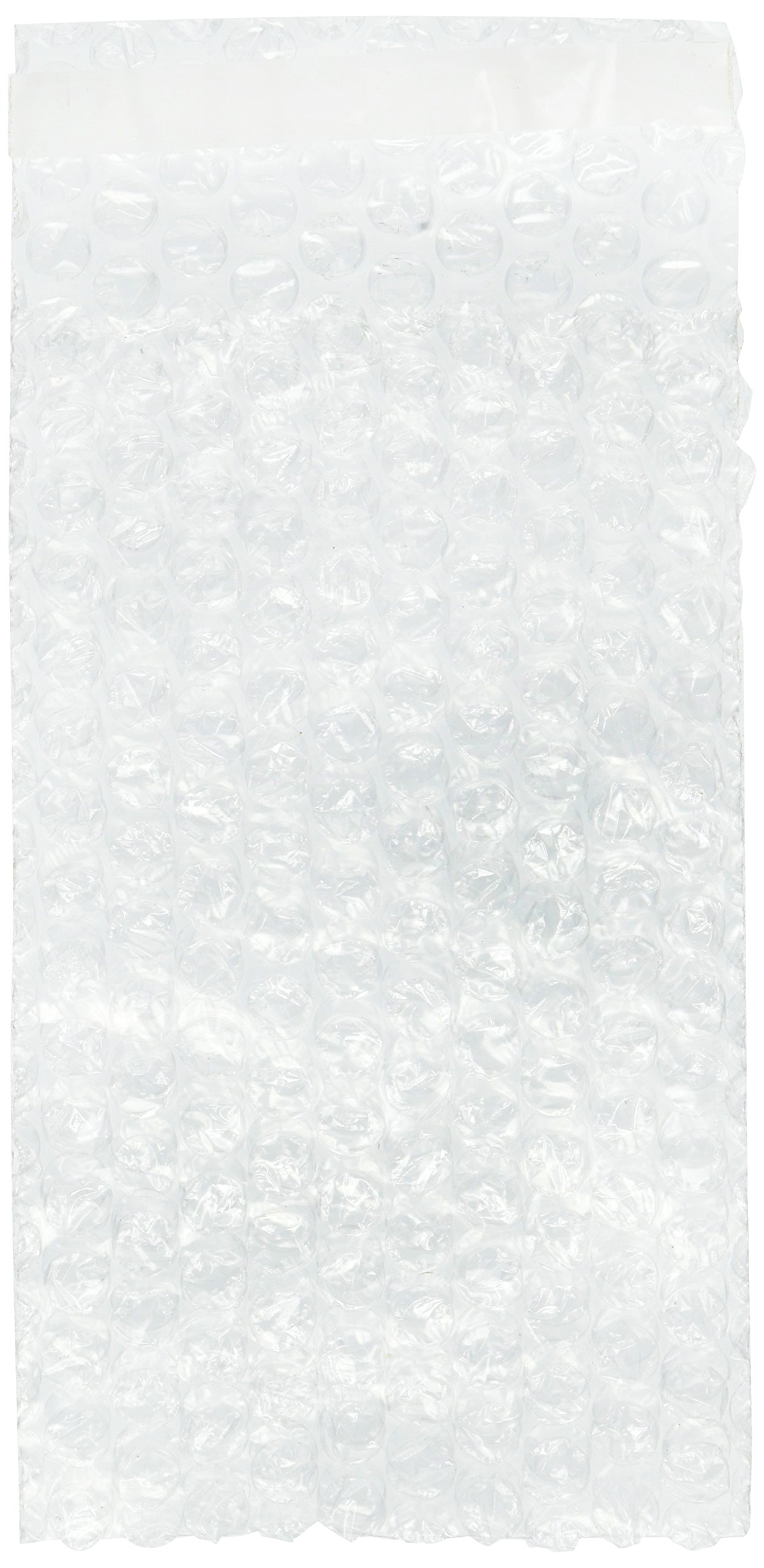 100 packs 4x7.5 SELF-SEAL CLEAR BUBBLE OUT POUCHES BAGS 3/16'' WRAP 4''x7.5''