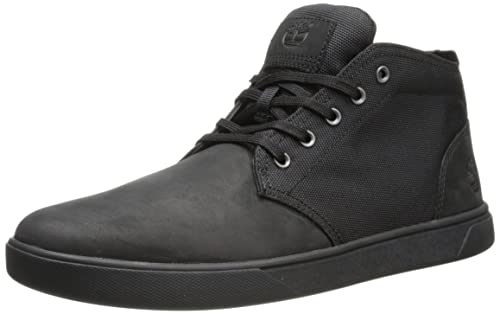 b3a32fcbc50 Timberland Men's Groveton LTT Chukka Leather & Fabric Sneaker