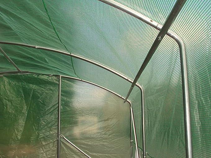 Túneles invernaderos «Extreme» de 4 m x 3,5 m, 6 m x 3,5 m o 8 m x 3,5 m, de laterales altos y más anchos, diseñados para los productores más serios.