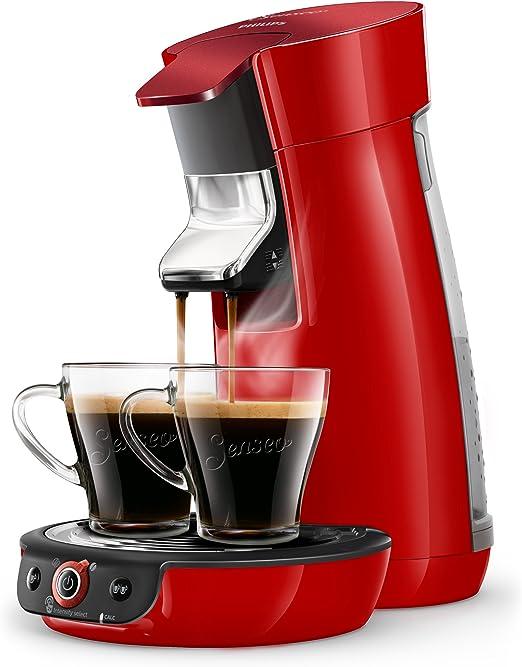 Senseo Cafetera Viva Café Duo Select HD6564/80, 1450 W, 0.9 litros ...