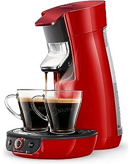 Senseo HD7829/80 Viva Café- Cafetera (0,9 L, Carmesí), Rojo ...