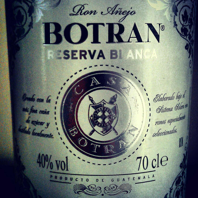 Botran Reserva Blanca Ron - 700 ml: Amazon.es: Alimentación y ...