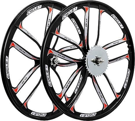 BBR Tuning juego de ruedas de freno de disco para bicicleta ...