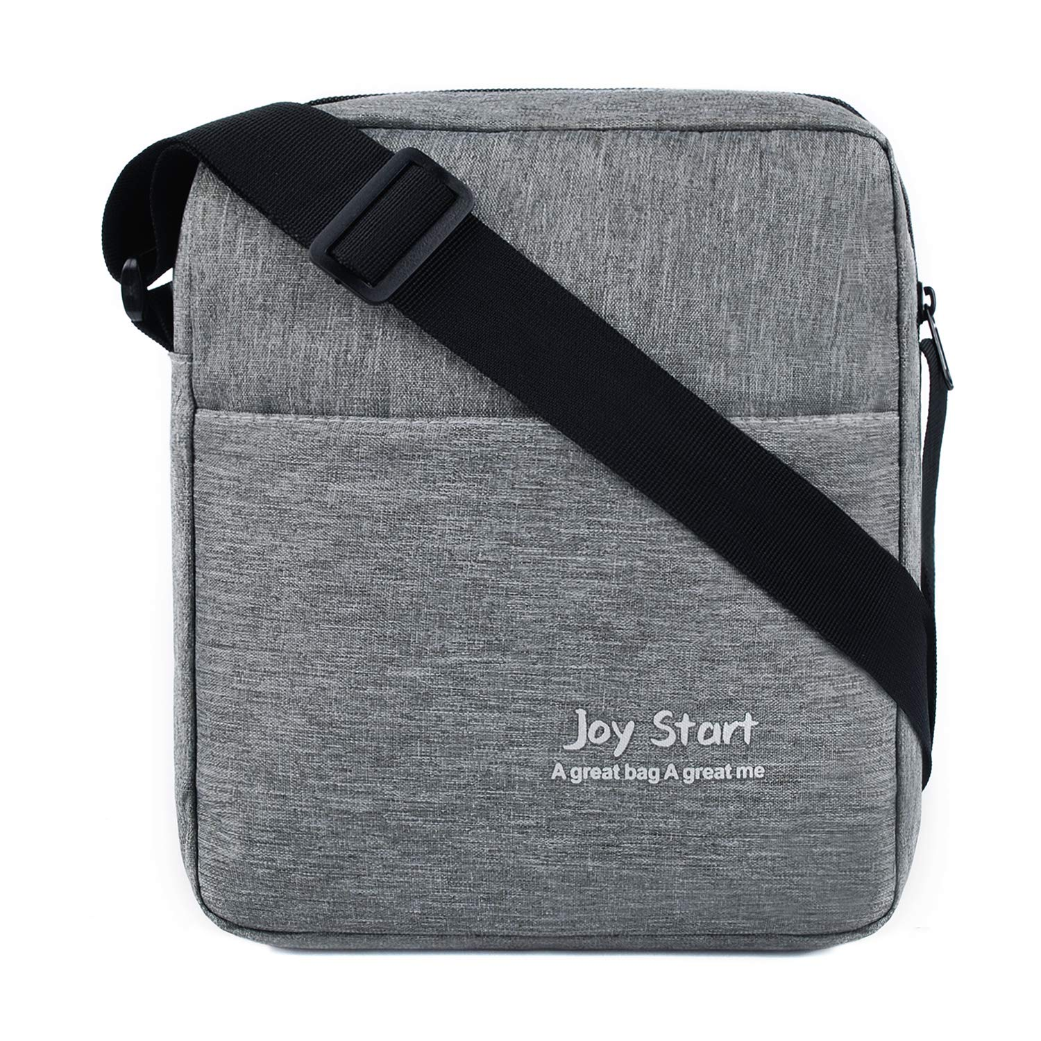 Victoriatourist Vertical Messenger Bag for iPad-Mini and Tablets Upto 8.1-Inch (Grey)
