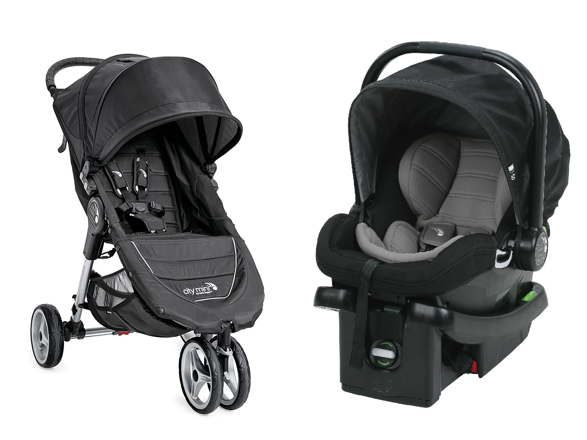 Baby Jogger 2017 City Mini Travel System, Black