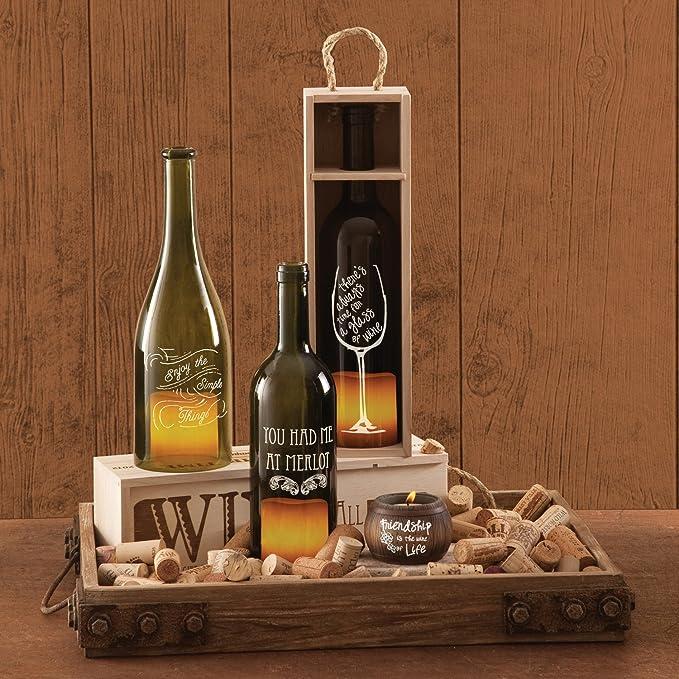 Amazon.com: Todo el tiempo 22013 de vino botella de vino ...