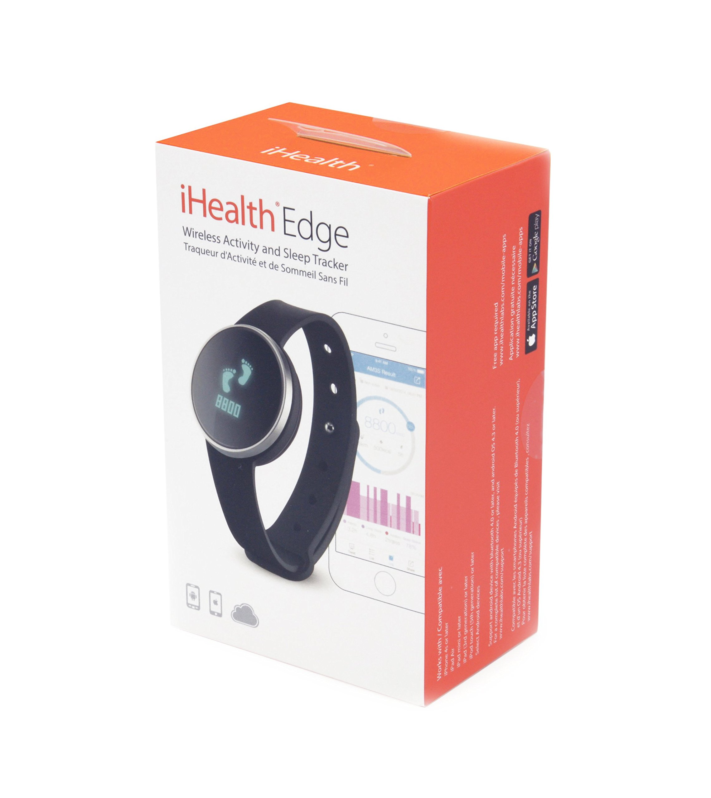 iHealth Edge Wireless Activity and Sleep Tracker for Apple and Android by iHealth