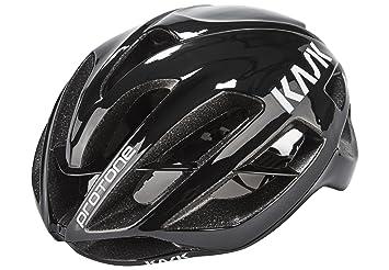 Kask Protone - Casco de Bicicleta - Negro Contorno de la Cabeza M | 52-