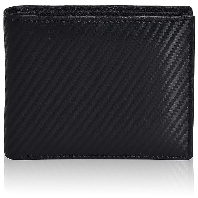 fe7da06f9dfa Slim RFID Bifold Wallets for Men - RFID Genuine Leather Front Pocket  Minimalist Modern Card Holder