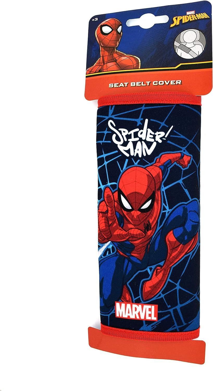 SolaDirect Marvel Spider-Man Seat Belt Comfort Harness Pad Excellent Gift Idea for Kids and Children