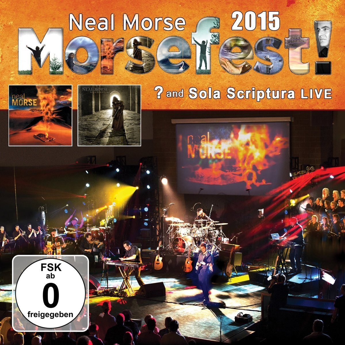 CD : Neal Morse - Morsefest 2015 Sola Scriptural And? Live (With DVD, Digipack Packaging, 6 Disc)