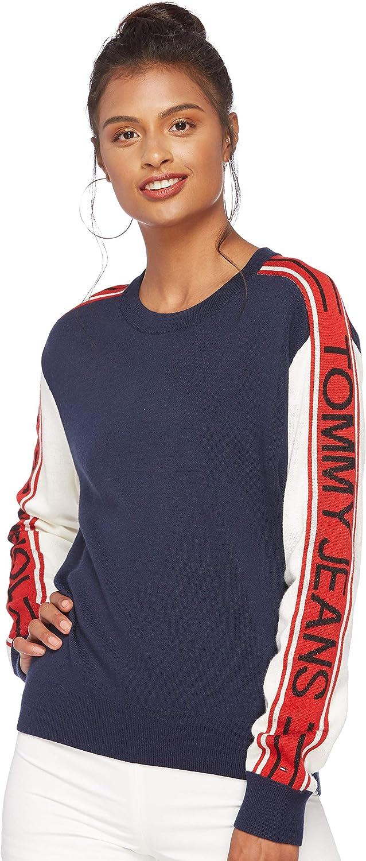 DKNY Mens Block V Neck Jumper Sweater Pullover Regular Fit Colour