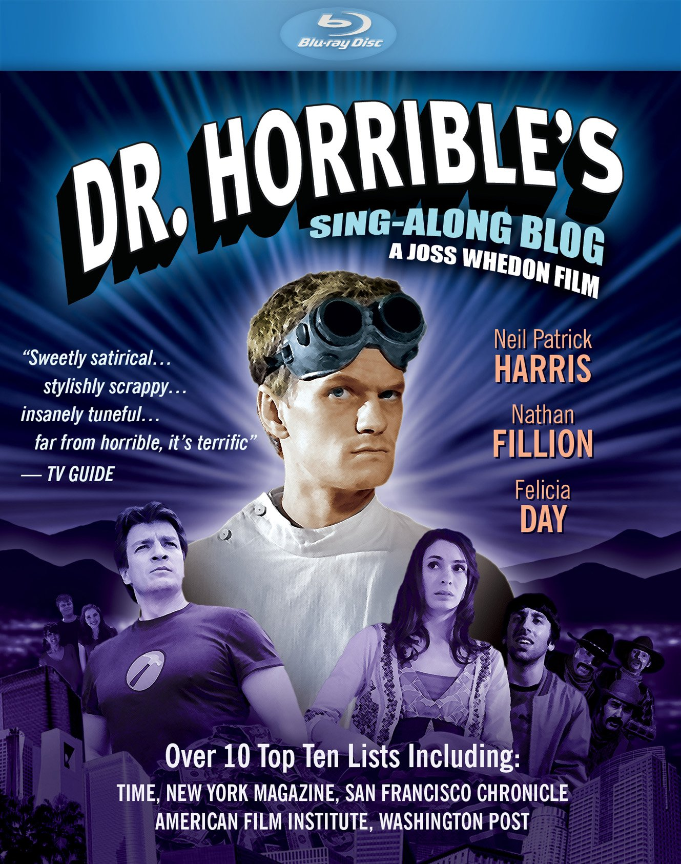Blu-ray : Dr. Horrible's Sing-A-Long Blog (Blu-ray)