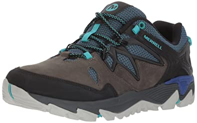 Merrell All Out Blaze Vent GTX Damen Trekking- & Wanderhalbschuhe, Braun (Dark Brown), 38 EU