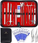 20 Pcs Advanced Dissection Kit Biology Lab Anatomy Dissecting Set for