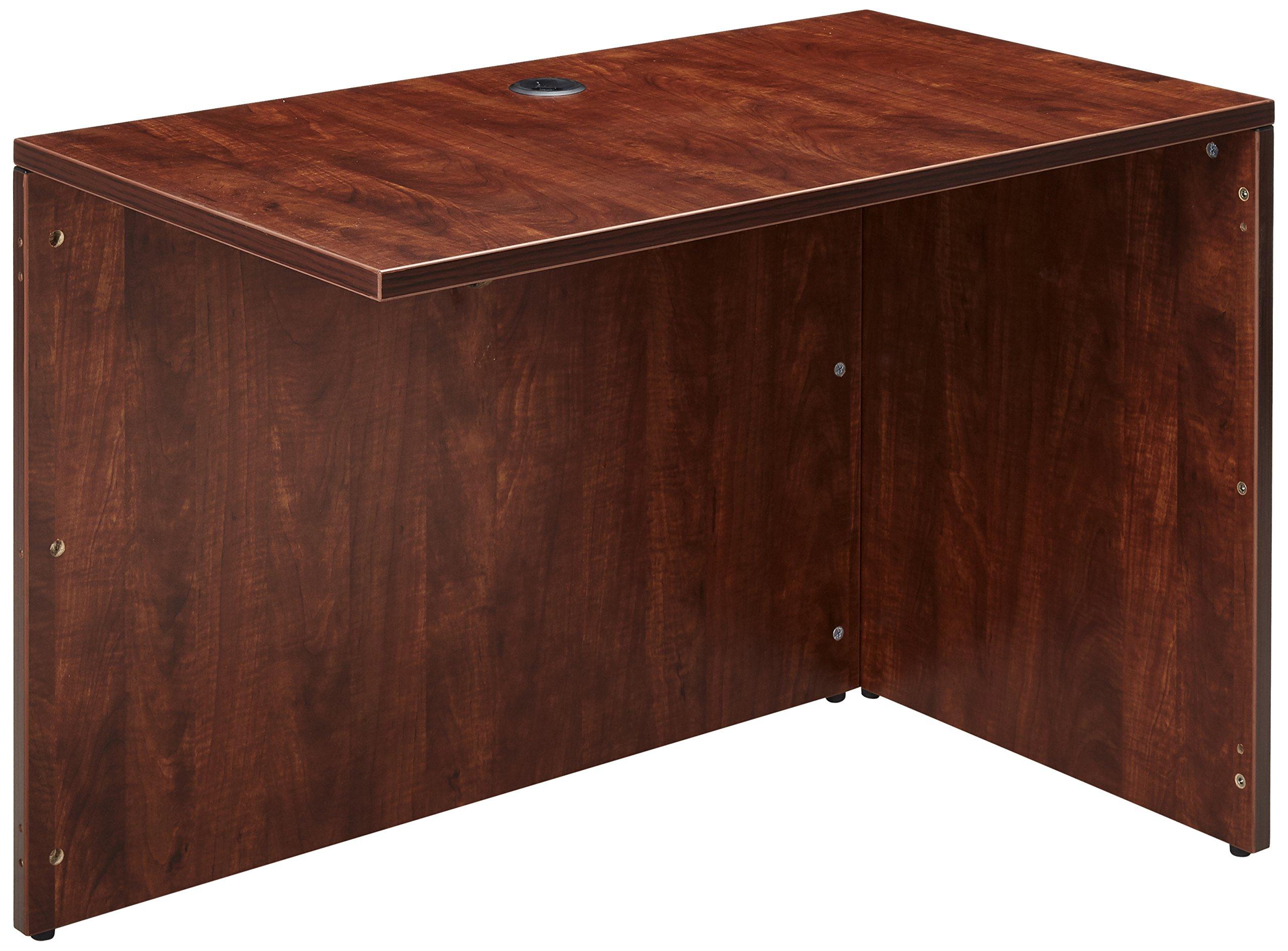 Lorell LLR69422 69000 Series Desk, Cherry