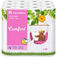 Carrefour Toilet Roll 2ply 48 Roll