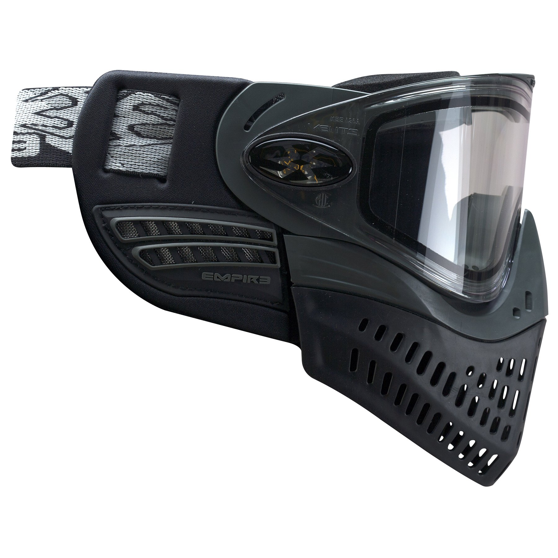 Empire Paintball E-Flex Goggle, Black by Empire Paintball