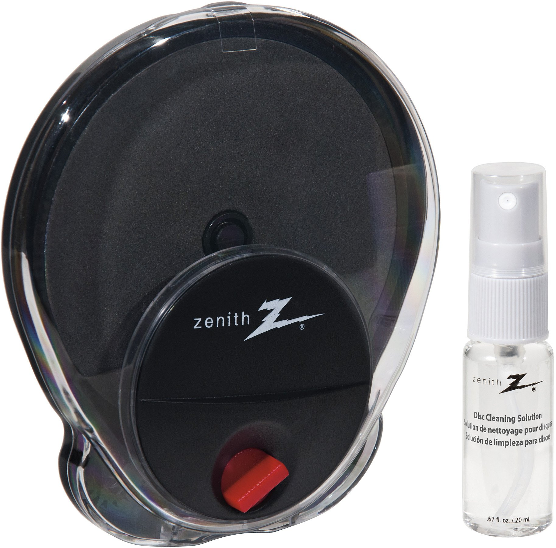 AmerTac - Zenith CD1001DVDCLR Radial Disc Cleaning System