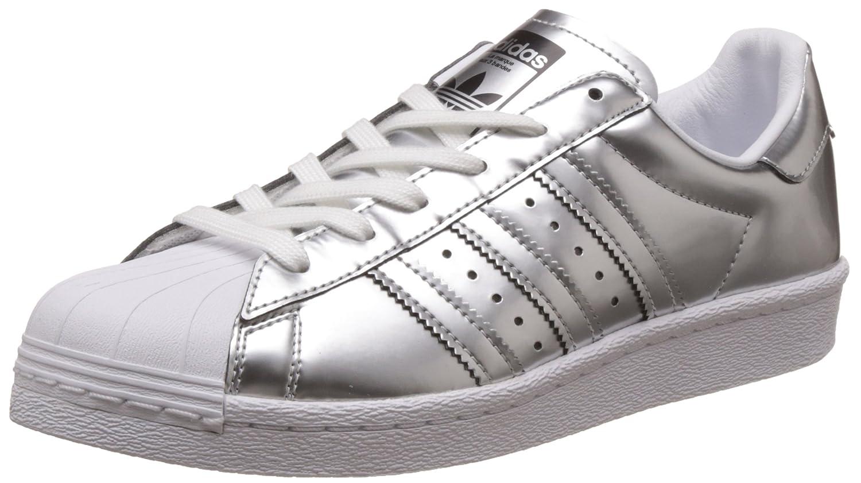 adidas Superstar Boost W Silver Metallic White 40 2/3 EU|Silver