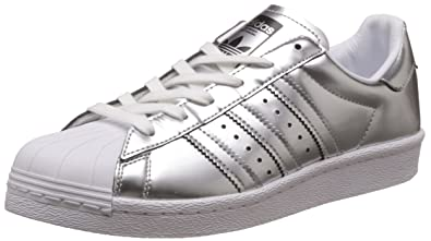 adidas Superstar Boost W Silver Metallic White, Argent, 36 2/3 EU