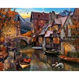 Autumn Canal Jigsaw Puzzle 1000 Piece