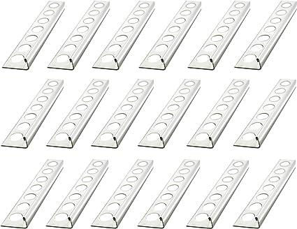 profili 250cm materiale 1mm non /è possibile torcersi 25 METRO Altezza: 10mm PREMIO profili per pavimenti angolo acciaio inox V2A lucido