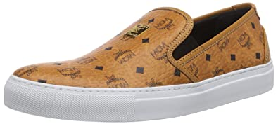 the latest d1bfc 7cace Michalsky Mens Urban Nomad Boarder x MCM Low-Top Trainer Brown Braun  (cognac monogram