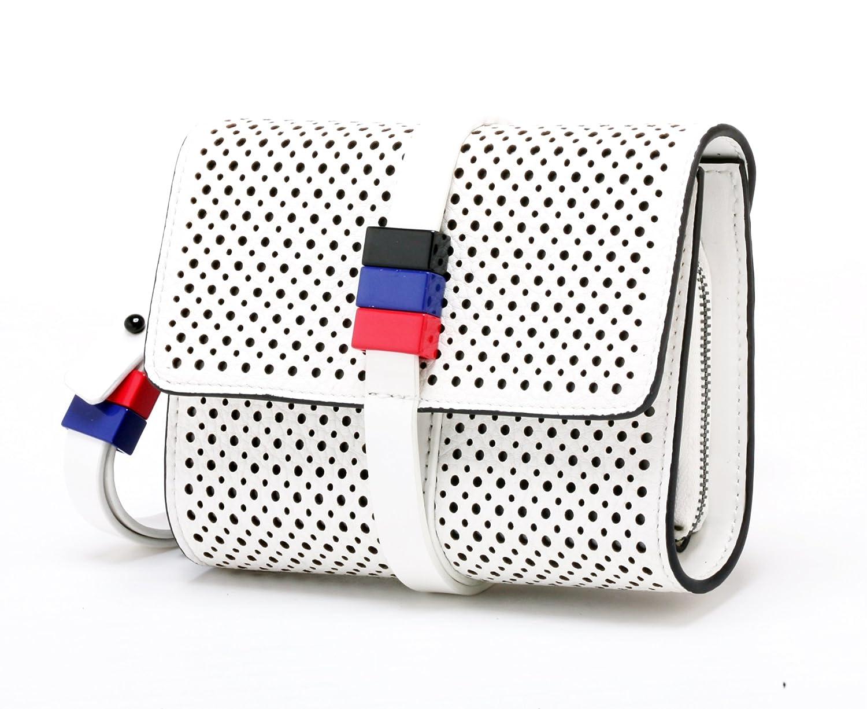 Like Dreams Perforated Clutch Handbag