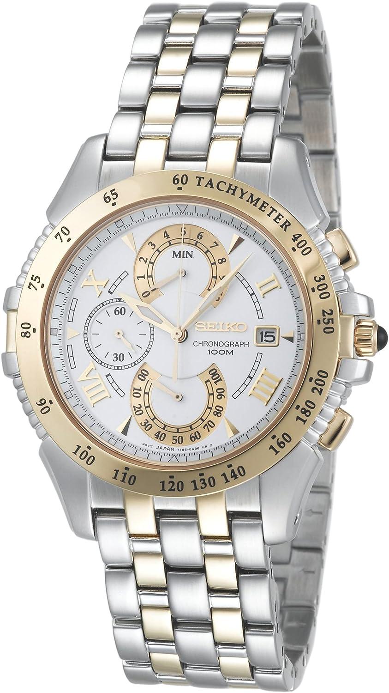 Seiko Men s SPC044 Le Grand Sport Dual Chronograph Watch