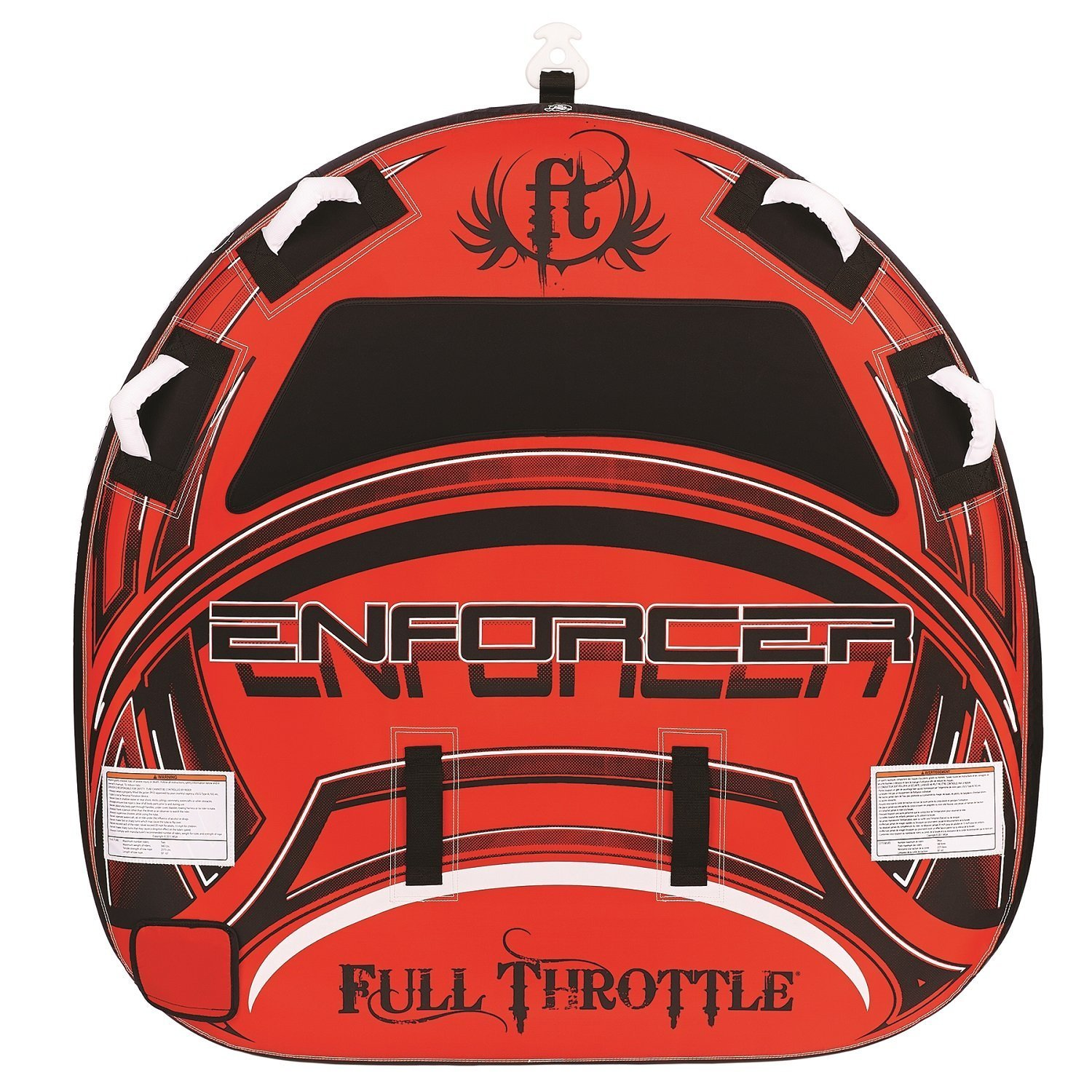 Full Throttle Enforcer Fully D-Shaped Tube 赤 60-Inch [並行輸入品]