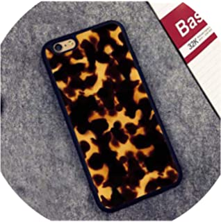 Amazon.com: Tortoise Shell Pattern Phone Case for iPhone X ...