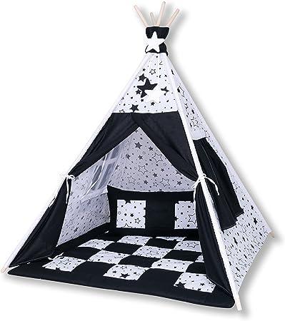 Amilian® Tipi Spielzelt Zelt für Kinder T29 (Spielzelt mit