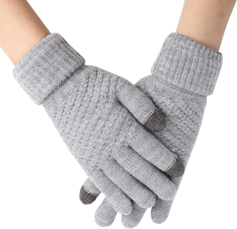 Men Women Winter Warm Knit...