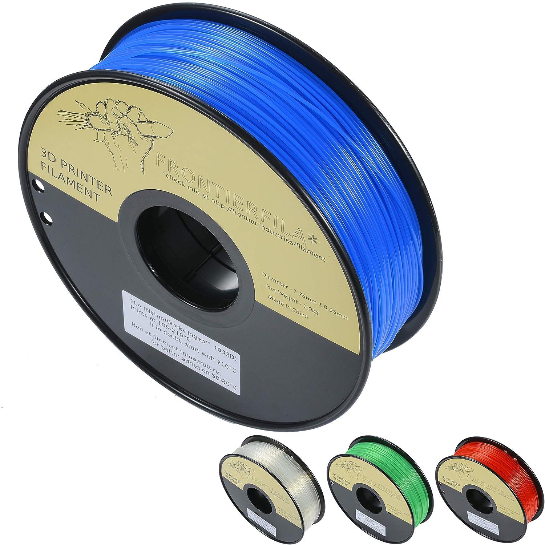 PLA transparente azul 1.75mm 1kg - Filamento para impresora 3D ...