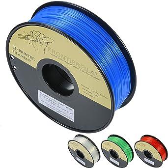 PLA transparente azul 1.75mm 1kg - Filamento para impresora ...