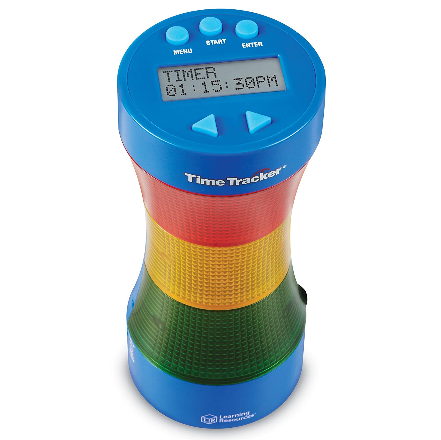 Learning Resources Time Tracker® Visual Timer & Clock educational resource - educational resources LER6900