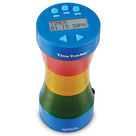 amazon com learning resources ler6900 time tracker visual timer