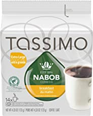 Tassimo Nabob Breakfast Blend Coffee Single Serve T-Discs, 14 T-Discs