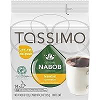 Tassimo Nabob Breakfast Blend Coffee Single Serve T-Discs, 14 T-Discs